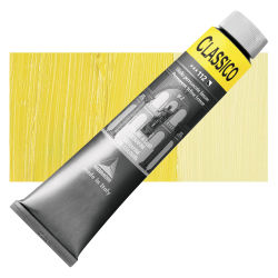 Maimeri Classico Oil Color - Permanent Yellow Lemon, 200 ml tube