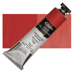 Cranfield Artists' Oils - Cadmium Red Genuine, 40 ml, Tube