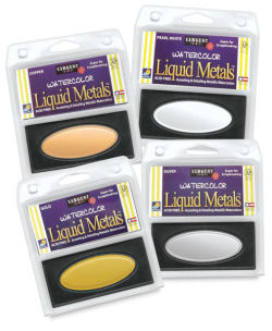 Sargent Watercolor Liquid Metal Pans