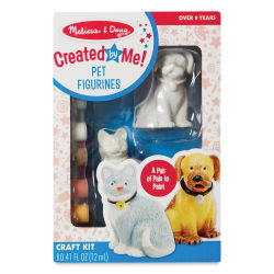 Melissa & Doug Created by Me Figurines - Pet Figurines
