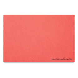 Canson Colorline Art Paper - 19'' x 25'', 300 gsm, Coral