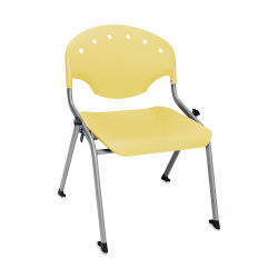 OFM Rico Chair - Yellow, 16''