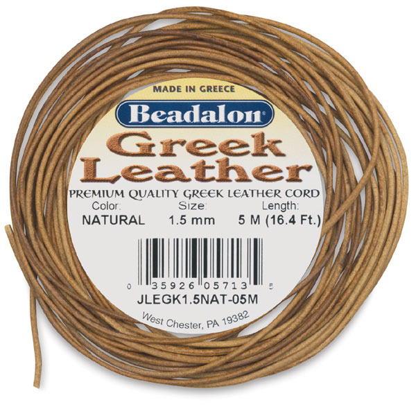 Beadalon Greek Leather Cord