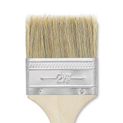 Blick Economy White Bristle Brush - Gesso, 2 1/2''