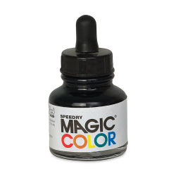 Magic Color Liquid Acrylic Ink - 28 ml, Quasar Black