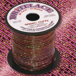 Rexlace Britelace - 50 yards, Red Holographic