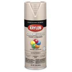 Krylon Colormaxx Spray Paint - Pebble, Satin, 12 oz