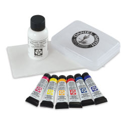 Daniel-Smith Extra Fine Watercolor Essential Mixing Set of 7  Contents of Package