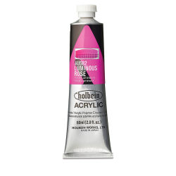 Holbein Heavy Body Artist Acrylics - Luminous Rose, 60 ml tube