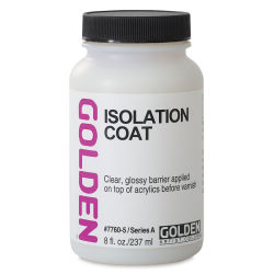 Golden Acrylic Medium - Isolation Coat, 8 oz