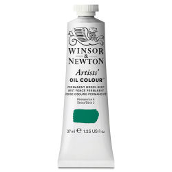 Winsor & Newton Artists' Oil Color - Permanent Green Deep, 37 ml