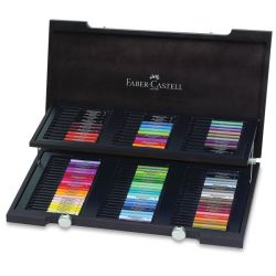 Faber-Castell Pitt Artist Pen Set - Set of 90, Assorted Nibs, Assorted Colors