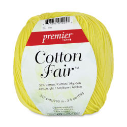 Premier Yarn Cotton Fair Yarn - Lemon Drops