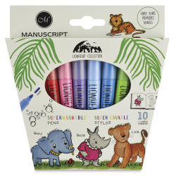 Manuscript Lionheart Superwashable Pens - Set of 10