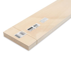 "Bud Nosen Basswood Sheets - 3/16"" x 6"" x 24"", 5 Sheets"