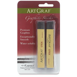 Viarco ArtGraf Graphite - Pkg of 2 Sticks