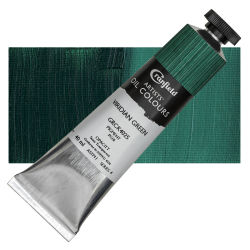 Cranfield Artists' Oils - Viridian Green, 40 ml, Tube