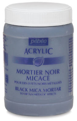 Black Mica Mortar