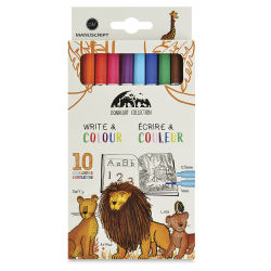 Manuscript Lionheart Write & Color Pens - Set of 10