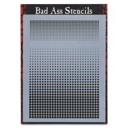 Graftobian Bad Ass Airbrush Stencil - Halftone