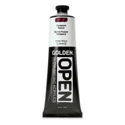 Golden Open Acrylics - Permanent Maroon, 5 oz, Tube