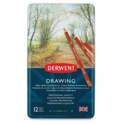 Derwent Drawing Pencil Set - Set of 12