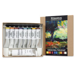 Williamsburg Handmade Oil Paints - - Landscape Set of 9