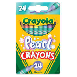 Crayola Pearl Crayons - Set of 24