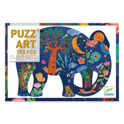 Djeco Puzz'Art - Elephant, 150 Pieces