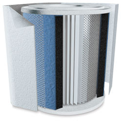 HealthMate Replacement Filter with Pre-Filter - White
