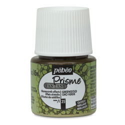 Pebeo Fantasy Prisme Paint - Greengold, 45 ml bottle