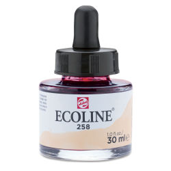 Ecoline Liquid Watercolor with Dropper - Apricot, 30 ml jar