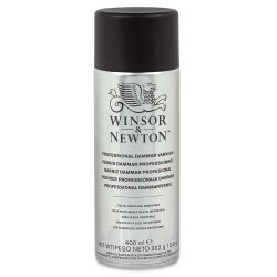 Winsor & Newton Artists' Spray Varnishes - Damar Varnish, 400 ml