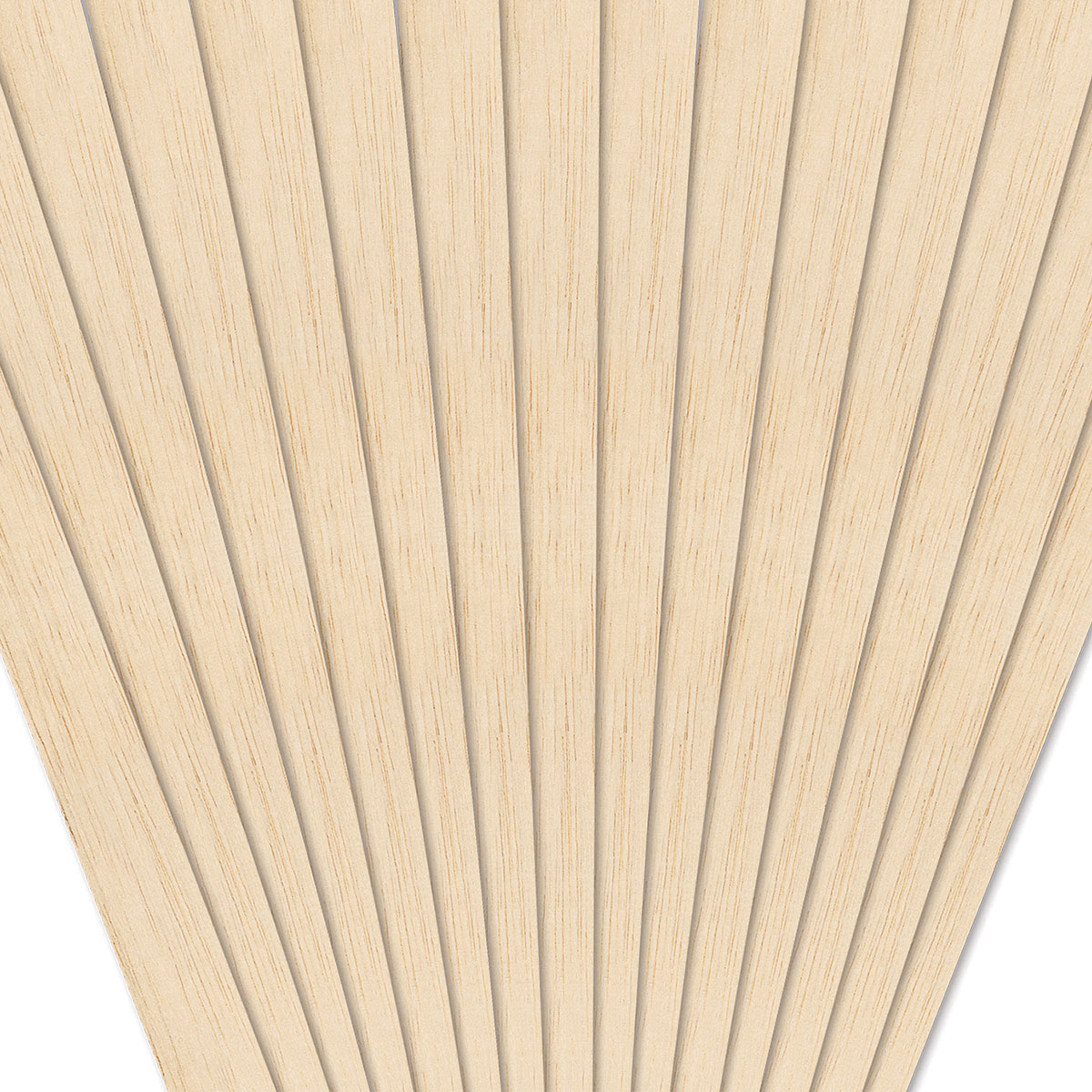 Pack of 36 by Midwest Products Co Inc PartNo 6044 1//8x1//8x36 Balsawood
