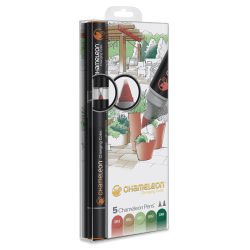 Chameleon Color Tones Marker Set - Nature Tones, Set of 5
