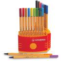 Stabilo Point 88 Fineliner Pen Set - Color Parade, Set of 20