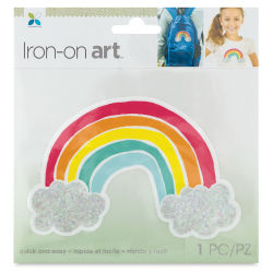 Momenta Iron-On Art - Four Color Rainbow