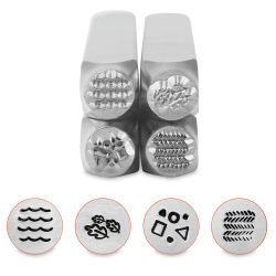 ImpressArt Design Stamp - Texture Pack Series 4, Set of 4