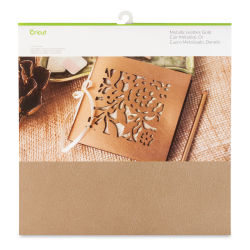 "Cricut Genuine Leather - Metallic Gold, 12"" x 12"""