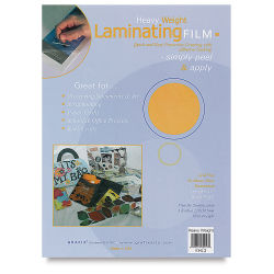 Grafix Laminating Film - 9'' x 12'', Heavyweight, Sheets, Pkg of 3