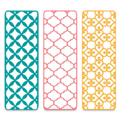Sizzix Thinlits Dies - Creative Background Dies, Set of 3
