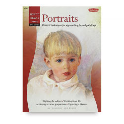 Oil & Acrylic: Portraits, Book Cover
