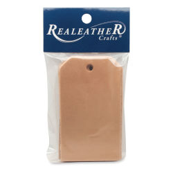 Leather Shapes - Pkg of 8, 3.5'' x 2'', Tag
