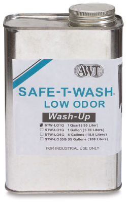 AWT Safe-T-Wash Screen Wash-Up - Quart