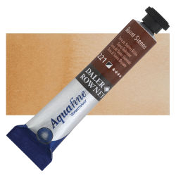 Daler-Rowney Aquafine Watercolors and Sets - Burnt Sienna, 8 ml, Tube