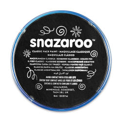 Snazaroo Face Paint - Black, 18 ml container