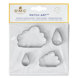 DMC Patch Art Shapes - Clouds and Rain