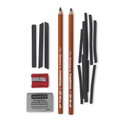 General's Charcoal Drawing Assortment -  Set of 11