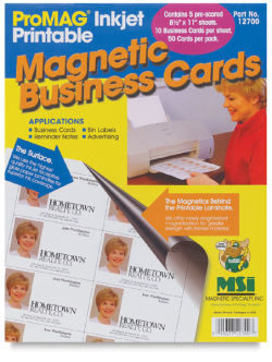 Mag Business Cards, 50 Pk