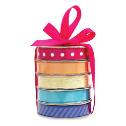 American Crafts Ribbon Set - Rainbow